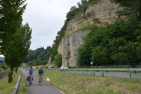 Bodensee-fietsroute in Goldbach