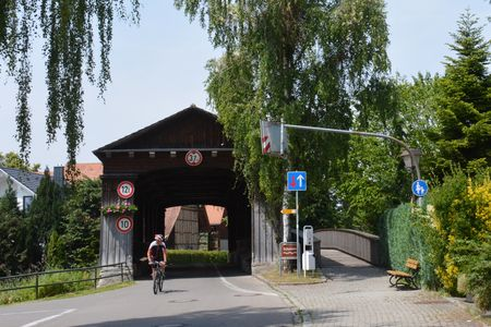 Bodensee-fietsroute in Eriskirch
